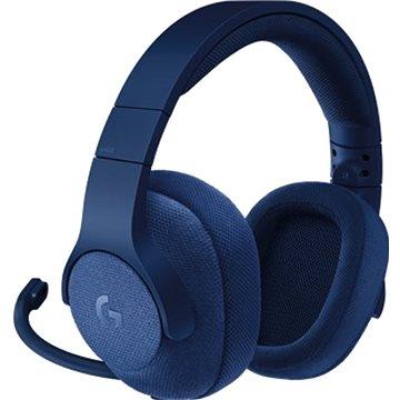 Logitech G433 Surround Sound Gaming Headset modrý (981-000687)