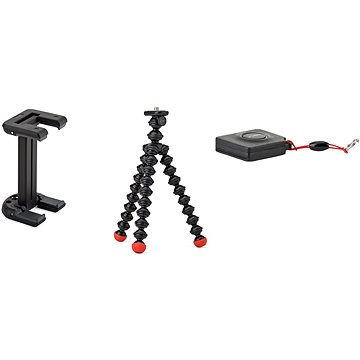 JOBY GripTight ONE Mount + GorillaPod Magnetic + dálková bluetooth spoušť Impulse (E61PJB01494)