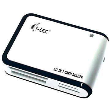 i-TEC USB 2.0 All-in One reader černo-bílá (USBALL3-W)