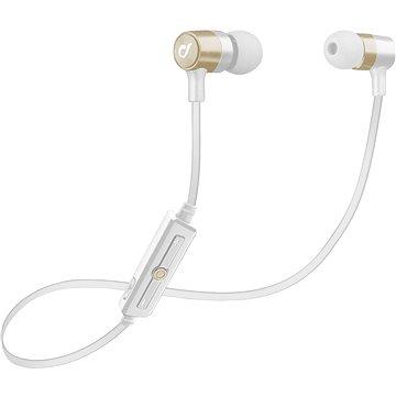 Cellularline Unique Design headset pro iPhone zlatá (LABTAUINEARH)