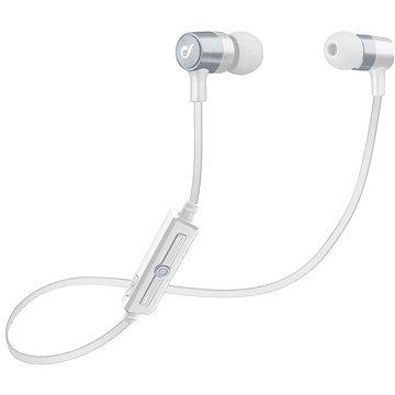 Cellularline Unique Design headset pro iPhone stříbrná (LABTAUINEARS)
