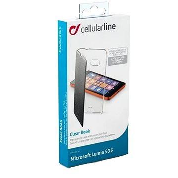 CellularLine CLEARBOOKL535K černé