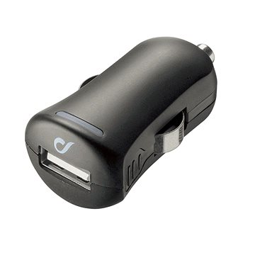 Cellularline Unique Design car charger pro iPhone černá (LACBRUSB2AK)
