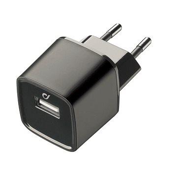 Cellularline Unique Desing charger pro iPhone černá (LAACHUSB2AK)