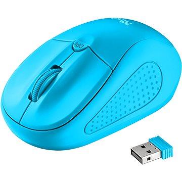 Trust Primo Wireless Mouse neon blue (21921)
