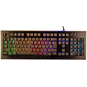 Trust GXT 860 Thura semi-mechanical keyboard CZ+SK (22286)