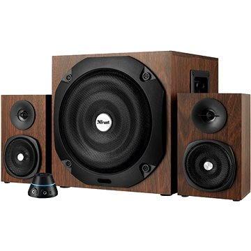 Trust Vigor 2.1 Subwoofer Speaker Set - hnědé dřevo (20244)