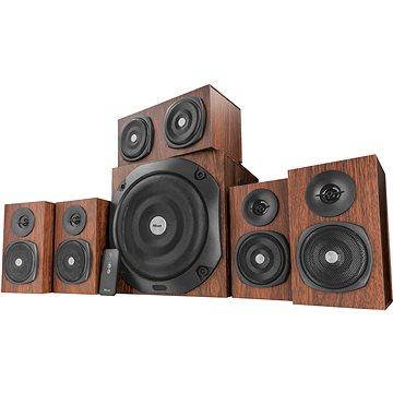 Trust Vigor 5.1 Surround Speaker System brown (21786)