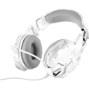 Trust GXT 322W Gaming Headset White camouflage (20864)