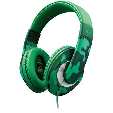Trust Sonin Kids Headphone jungle camo (22203)