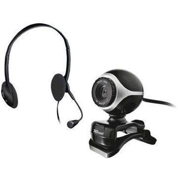 Trust Exis Webcam+náhlavní sada (17028)