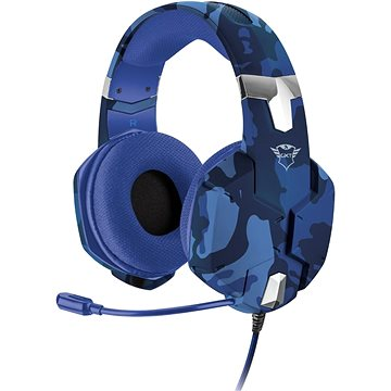 Trust GXT 322B Carus Gaming Headset for PS4 - camo blue (23249)