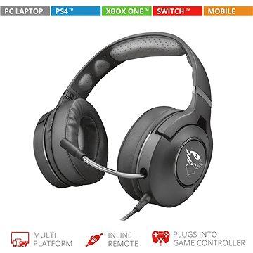 Trust GXT 420 Rath Multiplatform Gaming Headset (22897)