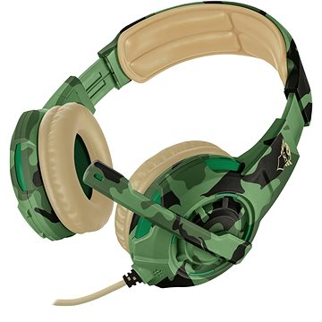 Trust GXT 310C Radius Gaming Headset - jungle camo (22207)