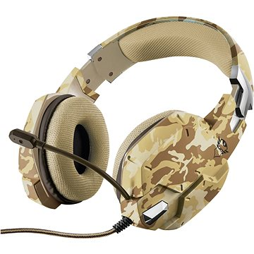 Trust GXT 322D Carus Gaming Headset - desert camo (22125)