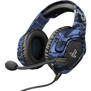 Trust GXT 488 FORZE-B PS4 HEADSET BLUE (23532)