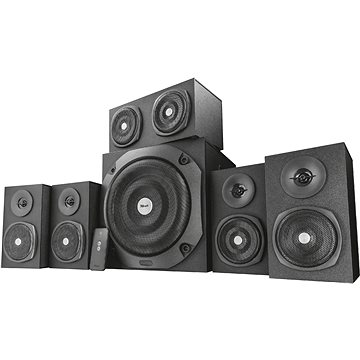 Trust Vigor 5.1 Surround Speaker System for PC black (22236)