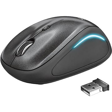 Trust Yvi FX Wireless Mouse - black (22333)