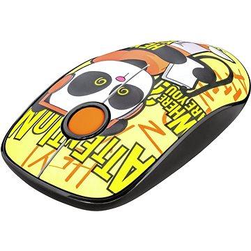 TRUST Sketch Wireless Silent Click Mouse - panda (23337)