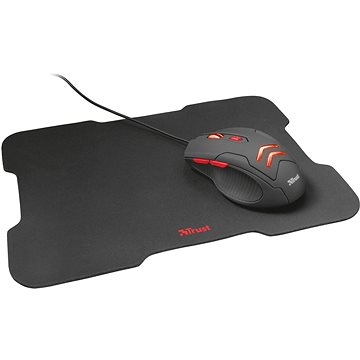 Trust ZIVA GAMING MOUSE & PAD (21963)