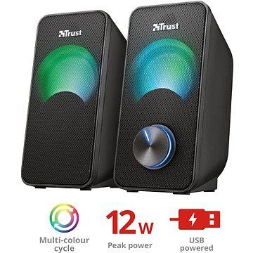 Trust Arys Compact RGB 2.0 Speaker Set (23120)