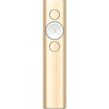 Logitech Spotlight Presentation Remote, zlatý (910-004862)