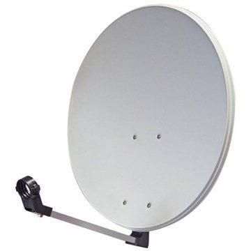 TeleSystem satelitní hliníková parabola 82x72cm (80 Al)