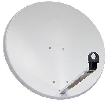 TeleSystem satelitní hliníková parabola 85x84cm (85 Al)