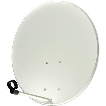 Satelitní hliníková parabola 82x72cm (80 Al)