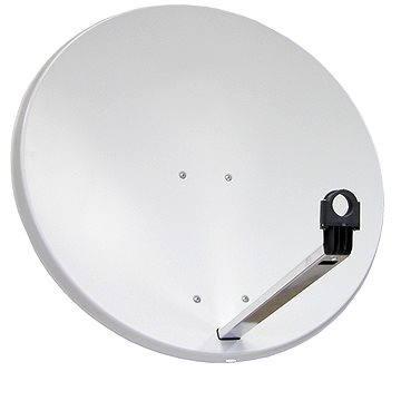 TeleSystem satelitní hliníková parabola 85x84cm, karton (H05a)
