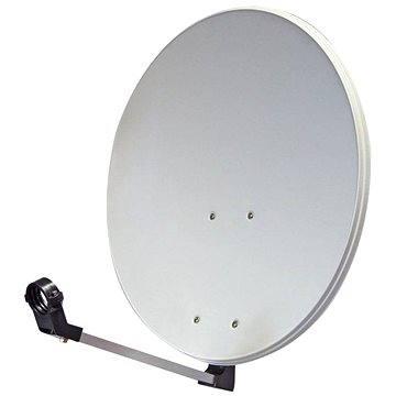 TeleSystem satelitní hliníková parabola 74x84cm, karton (H04a)
