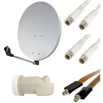 Set pro TV se satelitním tunerem - 1 družice, 1 přijímač (H07a04)