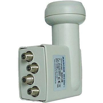 Mascom MCQS02HD Quad LNB 0.2dB (CH12m)