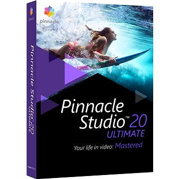 Pinnacle Studio 20 Ultimate (PNST20ULMLEU)