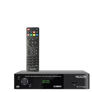 Mascom MC721T2 plus HD DVB-T2 H.265/HEVC (V004b12f)