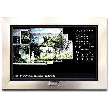 FrameXX Home 150 - černý se stříbrným rámem (HDUIFH150B)