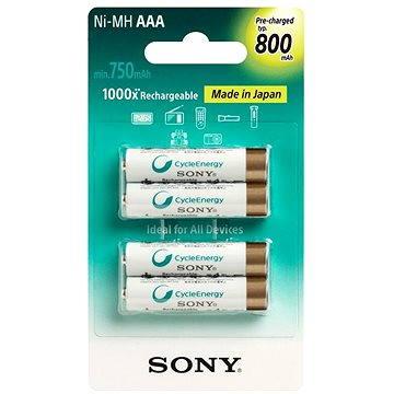 Sony NiMH 800mAh, AAA, 4ks (NH-AAAB4KN)
