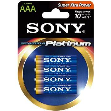 Sony STAMINA PLATINUM, LR03/AAA 1.5V, 4 ks (AM4PT-B4D)