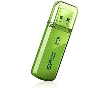 Silicon Power Helios 101 Green 8GB (SP008GBUF2101V1N)