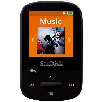 SanDisk Sansa Clip Sports 4GB černý (SDMX24-004G-G46K)