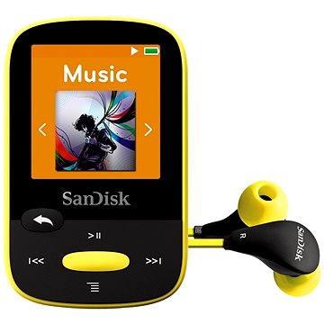 SanDisk Sansa Clip Sports 8GB žlutý (SDMX24-008G-G46Y)