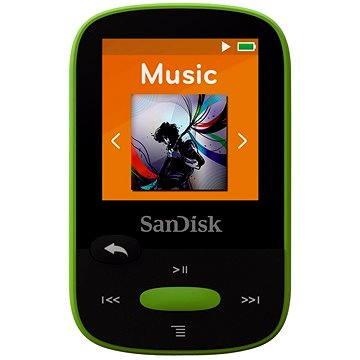 SanDisk Sansa Clip Sports 8GB limetka (SDMX24-008G-G46L)