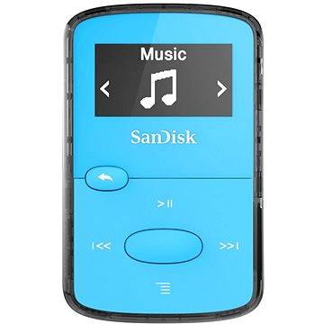 SanDisk Sansa Clip Jam 8GB světle modrý (SDMX26-008G-G46B)