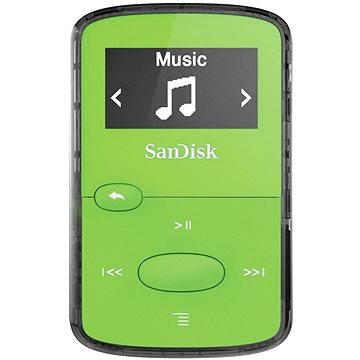 SanDisk Sansa Clip Jam 8GB světle zelený (SDMX26-008G-G46G)