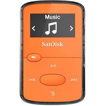 SanDisk Sansa Clip Jam 8GB oranžový (SDMX26-008G-G46O)