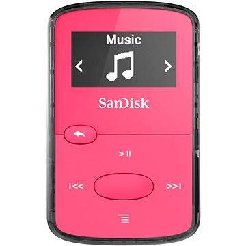 SanDisk Sansa Clip Jam 8GB růžový (SDMX26-008G-G46P)