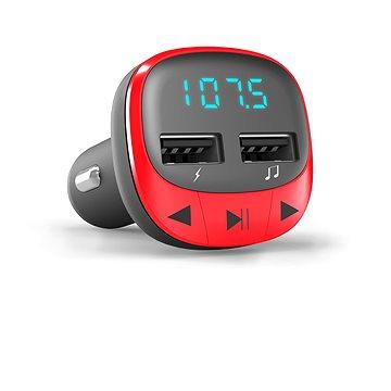 Energy Sistem Car Transmitter FM Red (448258)
