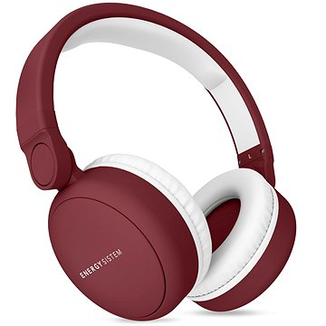 Energy Sistem Headphones 2 Bluetooth červená (445790)
