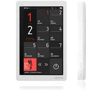 COWON X9 32GB bílý (8809290182289) + ZDARMA Přívěsek Misaki Cuore Pedant