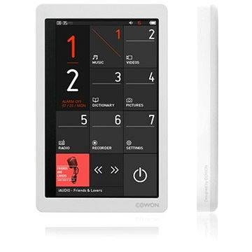 COWON X9 8GB bílý (8809290182265)
